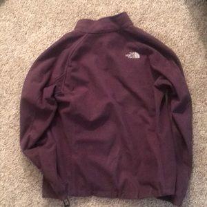 4a3ba438b Women's Purple Northface Windwall Coat- Large